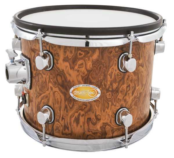 """drum-tec pro-s Tom 12"""" x 9"""" (walnut roots)"""