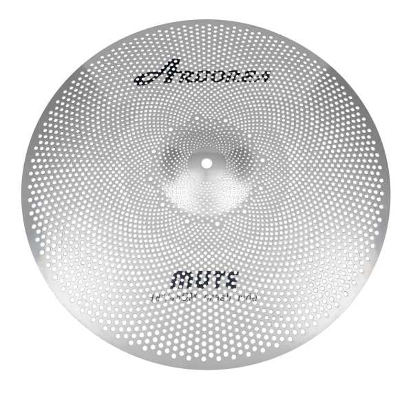 "Arborea Mute Low Noise Cymbal 18"" Crash / Ride"