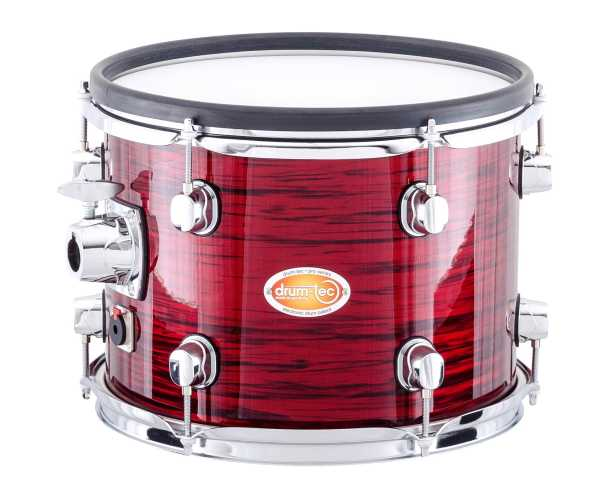 drum-tec pro custom Shell Set (red oyster)