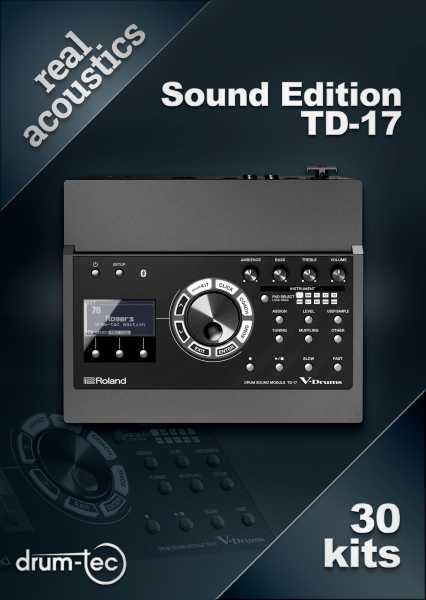 Real Acoustics Sound Edition Roland Td 17 Download Drum Tec