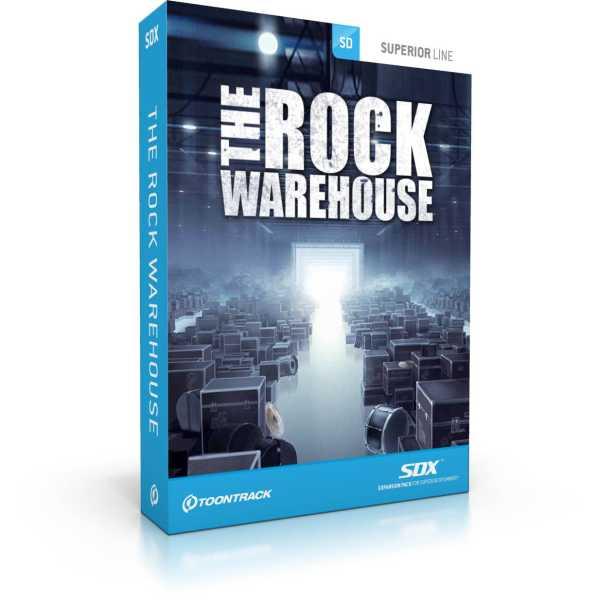 Toontrack The Rock Warehouse SDX [Download]