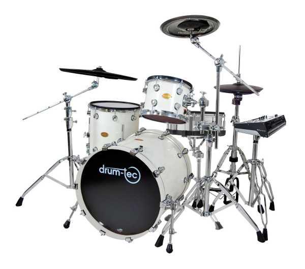 drum-tec pro Jazz mit Roland TD-50DP