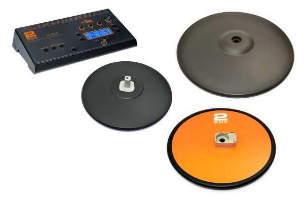 2Box DrumIt Three Soundmodul Cymbals Bundle