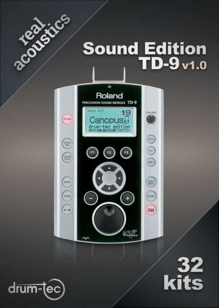 Real Acoustics Sound Edition Roland TD-9 v1.0