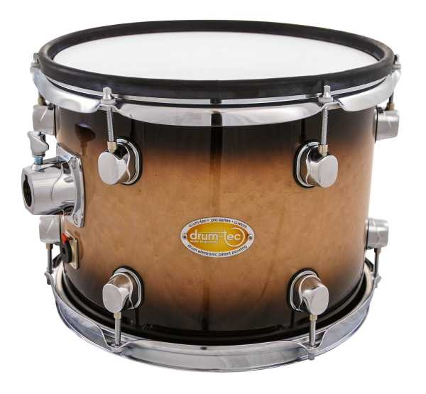 "drum-tec pro-s Tom 12"" x 9"" (brown fade)"