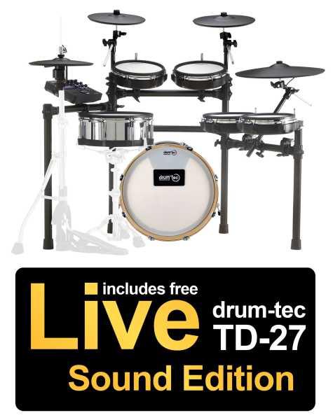 Roland TD-27KV drum-tec Edition Real Feel