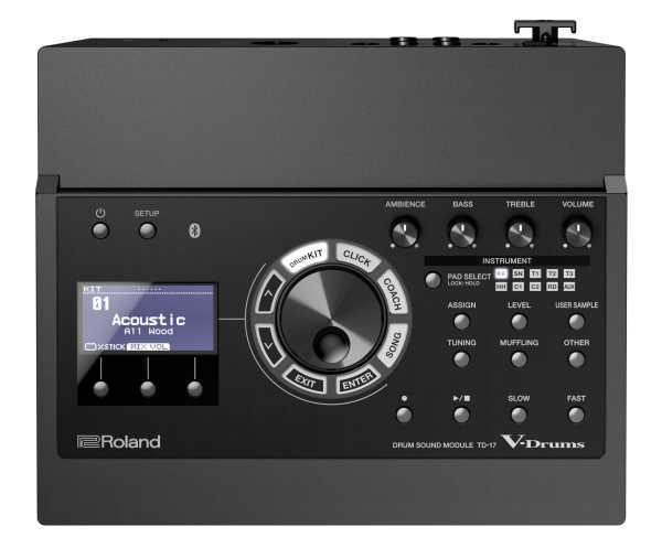 Roland TD-17KVX / MDS-comp. inkl. Live