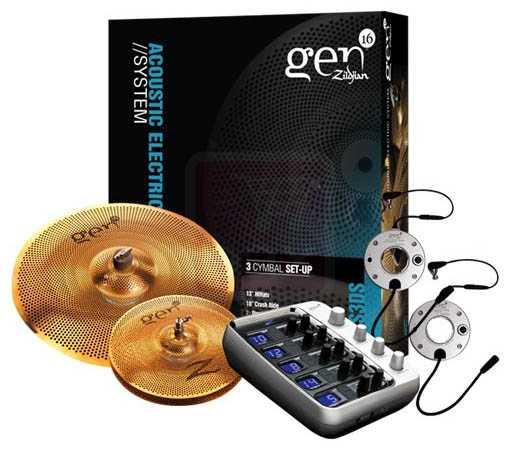 Zildjian Gen16 BB Cymbal Box Set 48 (G16BS4DS)
