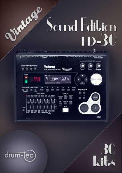 Vintage Sound Edition Roland TD-30