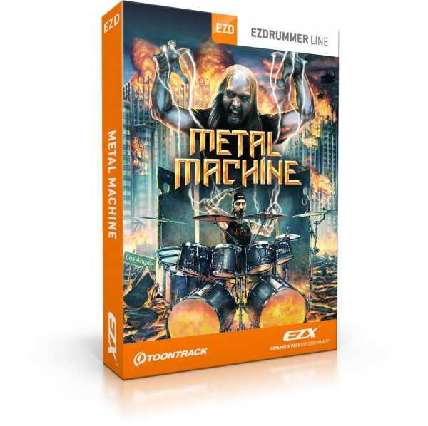 Toontrack Metal Machine EZX [Download]