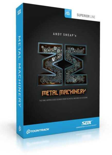 Toontrack Metal Machinery SDX [Download]