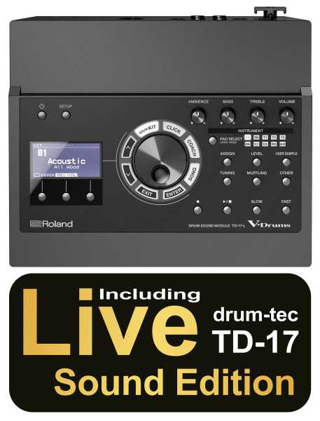 Roland TD-17-L Soundmodul ohne Bluetooth