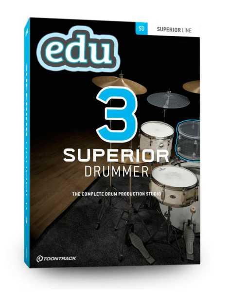Download Toontrack Superior EDU Drummer 3.0