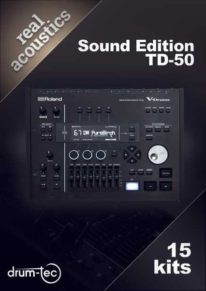 Real Acoustics Sound Edition Roland TD-50