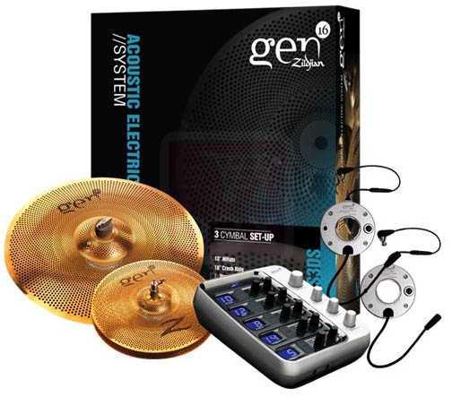 Zildjian Gen16 BB Cymbal Box Set 38 (G16BS3DS)