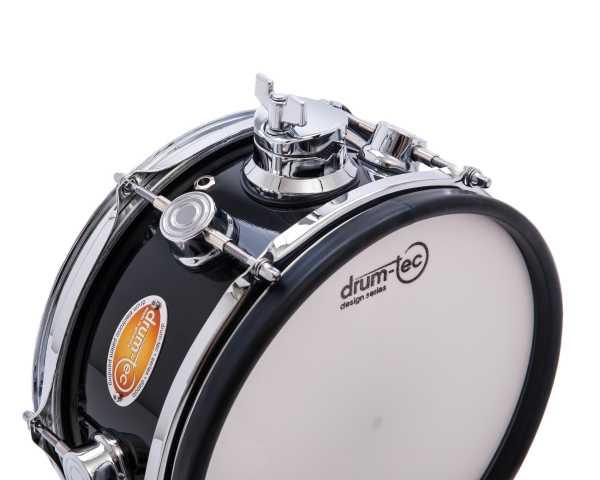 "drum-tec diabolo mesh head pad 10"" x 5"" (black)"