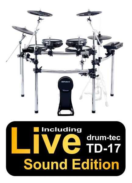 Roland TD-17KVX drum-tec Edition BIG RACK & BIG