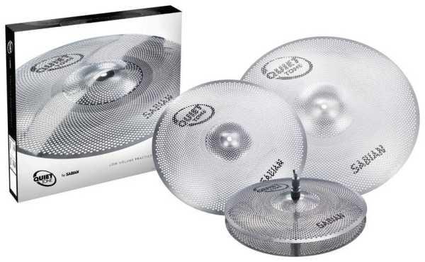 Sabian Quiet Tone Cymbal Set 460 - QTPC503
