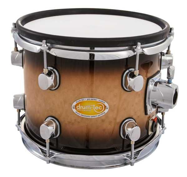 "drum-tec pro-s Tom 10"" x 8"" (brown fade)"
