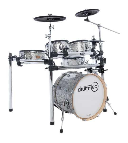drum-tec diabolo Rock (silver sparkle)
