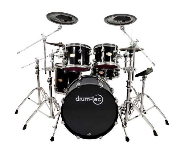 drum-tec pro Stage mit Pearl Mimic Pro (black)