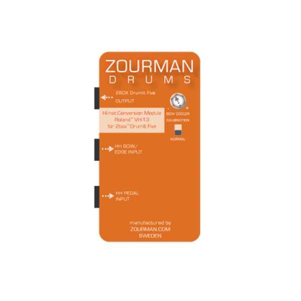 Zourman 2Box Hi-hat conversion kit VH-13
