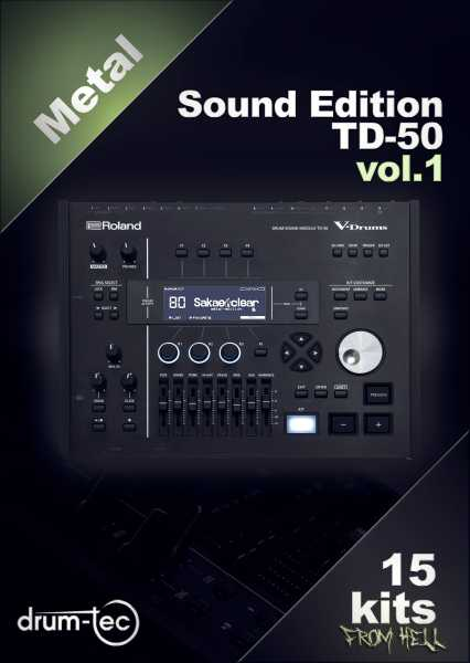 Metal Sound Edition Roland TD-50 Vol. 1