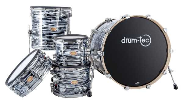 drum-tec pro custom Shell Set (blue oyster)