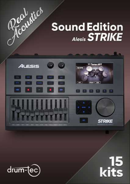 Real Acoustics Sound Edition Alesis Strike