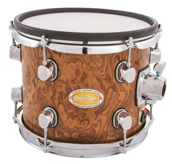"""drum-tec pro-s Tom 10"""" x 8"""" (walnut roots)"""