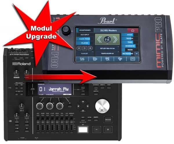 Modul Upgrade Roland TD-50 zu Pearl Mimic Pro