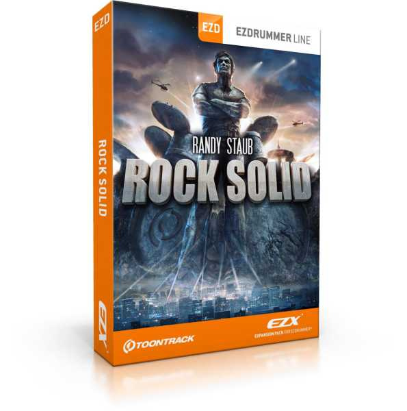 Toontrack Rock Solid EZX [Download]