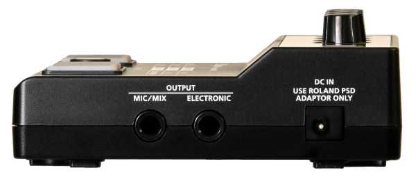 Roland EC-10M Elektronischer Cajon Klang Prozessor