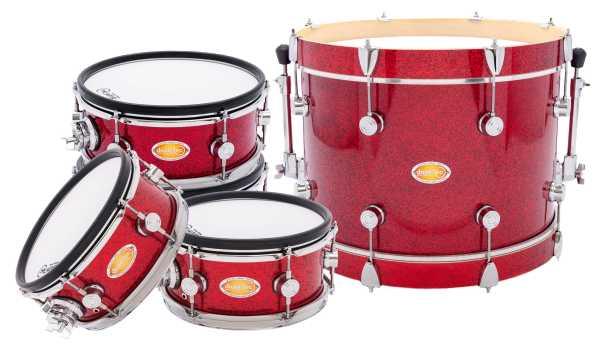 drum-tec diabolo Shell Set (red sparkle)