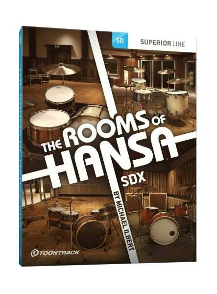 Toontrack The Rooms of Hansa SDX [Download]