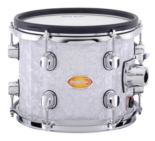 drum-tec pro custom Shell Set (white pearl)