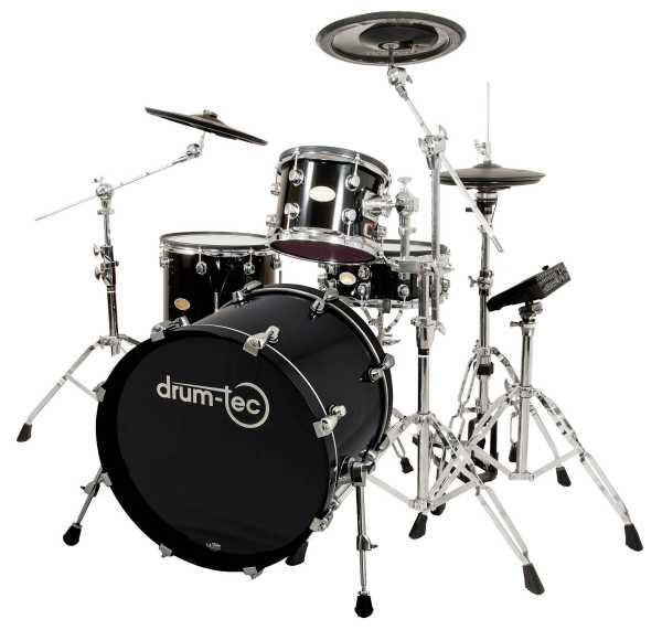 drum-tec pro Jazz mit Pearl Mimic Pro (black)