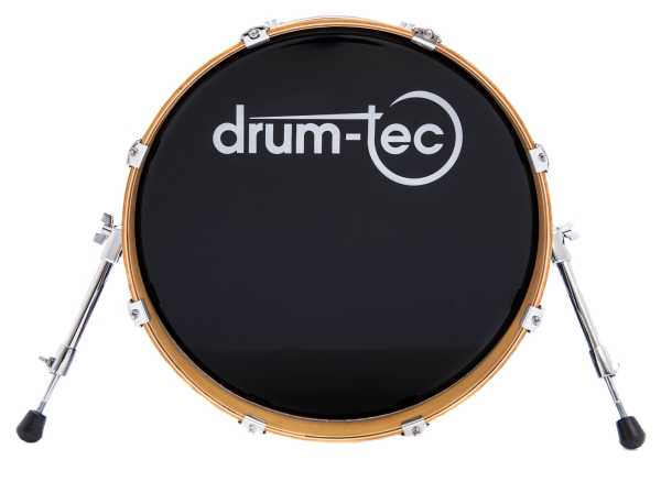 "drum-tec diabolo mesh head Bass Drum 18"" x 12"""