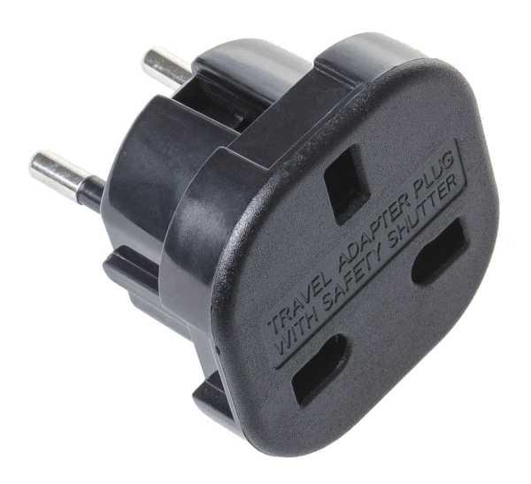 Stromadapter UK auf Deutschland