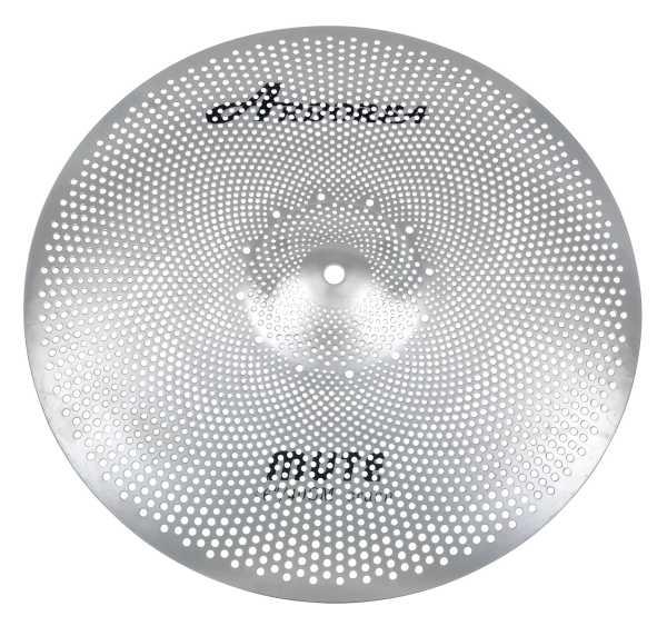 """Arborea Mute Low Noise Cymbal 16"""" Crash"""