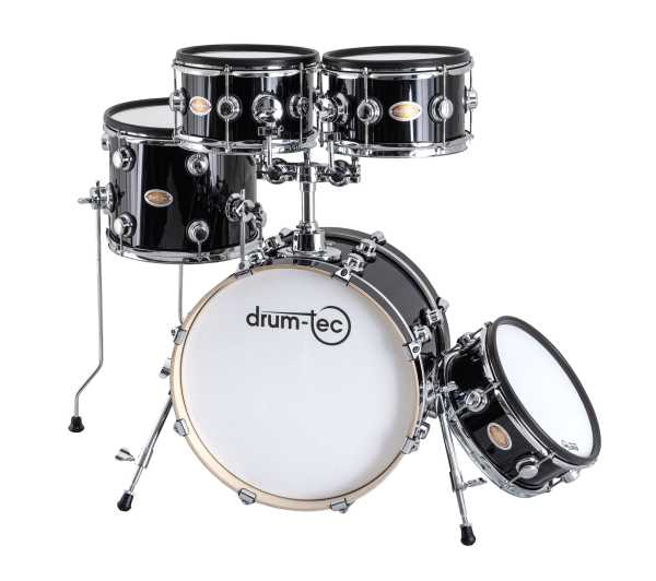 drum-tec Jam NG Shell Set Set 5-teilig (black)