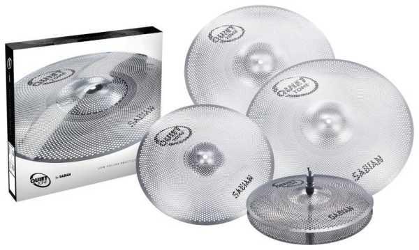 Sabian Quiet Tone Cymbal Set 4680 - QTPC504
