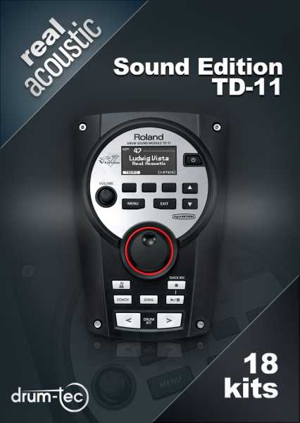 Real Acoustic Sound Edition Roland TD-11