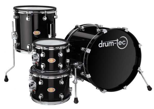drum-tec pro 4-tlg. Shell Set (black)