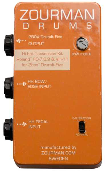 Zourman 2Box HiHat conversion Roland FD-8 FD-9