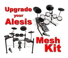 Alesis Mesh Head Upgrades | Mesh Heads
