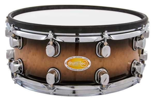 "drum-tec pro-s Snare 14"" x 5,5"" (brown fade)"