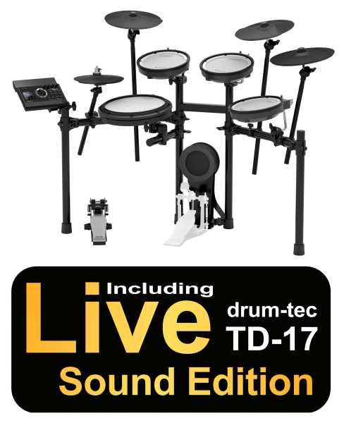 Roland TD-17KV drum-tec Edition BIG RIDE