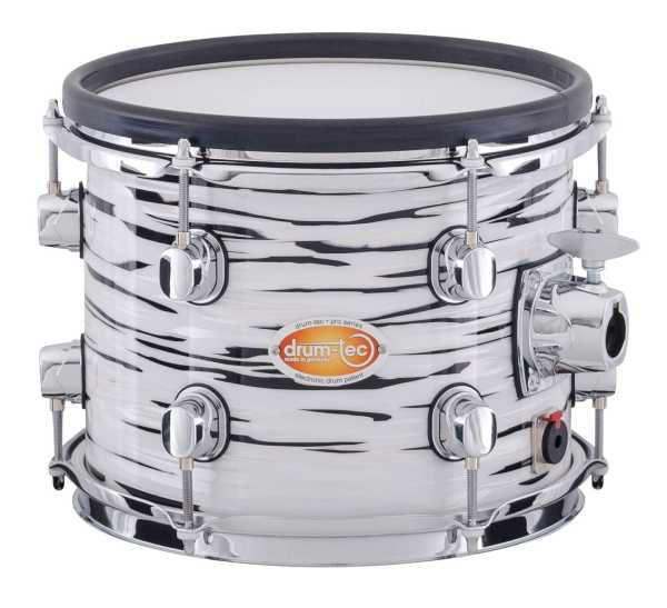 drum-tec pro custom Shell Set (white oyster)