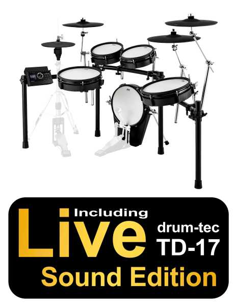 Roland / ATV Full Sized Set mit TD-17